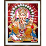 Bead embroidery kit «A-0393 Ganesh»