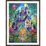 Bead embroidery kit «A-0467 Fairies'Castle»