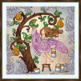 Bead embroidery kit «A-0520 Pear Tree»