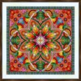 Bead embroidery kit «A-0530 Mandala»