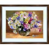 Bead embroidery kit «K-0091 Wildflowers 4»