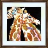 Bead embroidery kit «K-0101 Giraffe Love»