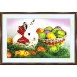 Bead embroidery kit «K-0152 Easter Bunny»