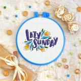 Cross stitch kit «T-0007 Lazy Sunday»