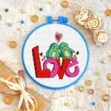 Cross stitch kit «T-0017 Lovebird Love»