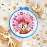 Cross stitch kit «T-0027 Miss Foxie Kit»