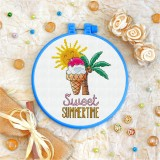 Cross stitch kit «T-0037 Sweet Summertime»
