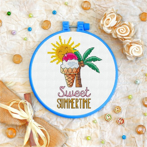 Cross stitch kit «T-0037 Sweet Summertime»