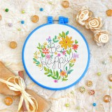 Cross stitch kit «T-0087 Be Happy»