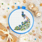 Cross stitch kit «T-0127 Peacock»