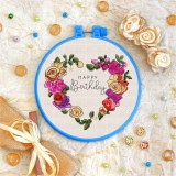 Cross stitch kit «T-0137 Happy Birthday 10»