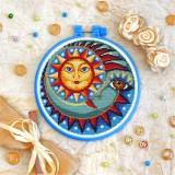 Cross stitch kit «T-0172 Sun and Moon»