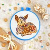 Cross stitch kit «T-0214 Mandala Fawn»