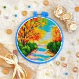Cross stitch kit «T-0258 Autumn Landscape»