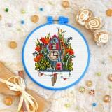 Cross stitch kit «T-0321 Clock»