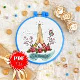 Cross stitch pattern «pdf-T-0062 Namaste 1»