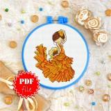 Cross stitch pattern «pdf-T-0132 Spanish Dancer»