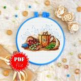 Cross stitch pattern «pdf-T-0282 Warm Holidays»