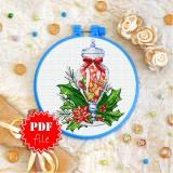 Cross stitch pattern «pdf-T-0359 Christmas Sweets»