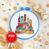 Cross stitch pattern «pdf-T-0411 Beijing»