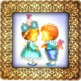 Magnet bead embroidery kit «M-0020 Let's go Play»