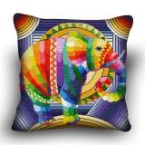Pillow cross stitch kit «H-0007 Elegant Elephant»