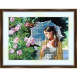 Bead embroidery kit «A-0153 Contemplation»