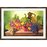 Bead embroidery kit «A-0163 Delicious Grapes»