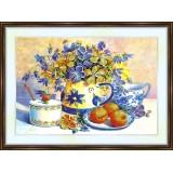 Bead embroidery kit «A-0173 Apricots 'n Tea»