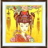 Bead embroidery kit «A-0183 Agata Kawa»