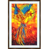 Bead embroidery kit «A-0223 The Phoenix»