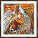 Bead embroidery kit «A-0243 Paradise Birds»
