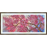 Bead embroidery kit «A-0294 Cherry Blossoms»