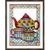 Bead embroidery kit «A-0324 Tea Repast»