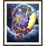 Bead embroidery kit «A-0374 Playing On the Moon»