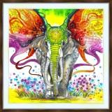 Bead embroidery kit «A-0384 Elephant Ears»