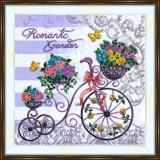 Bead embroidery kit «A-0404 Romantic Garden»