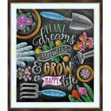 Bead embroidery kit «A-0414 Spring Garden Dreams»