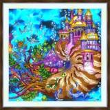 Bead embroidery kit «A-0478 Nautilus Castle»
