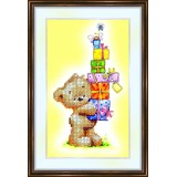 Bead embroidery kit «K-0032 Gift Stack»