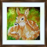 Bead embroidery kit «K-0082 The Fawn»