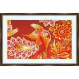 Bead embroidery kit «K-0153 Magical Birds»
