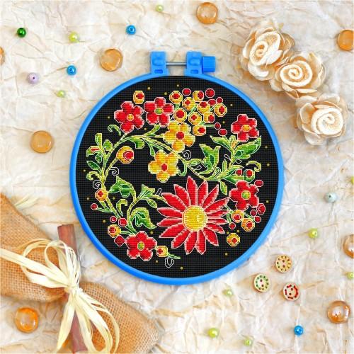 Cross stitch kit «T-0018 Night Blooming Flowers»