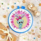 Cross stitch kit «T-0028 Miss Bunny»