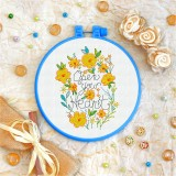 Cross stitch kit «T-0088 Open Your Heart»