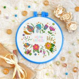 Cross stitch kit «T-0098 Happy Birthday 8»