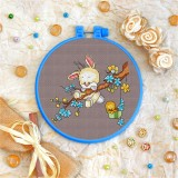 Cross stitch kit «T-0108 Bunny &Birdie»