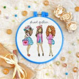 Cross stitch kit «T-0128 Street Fashion»
