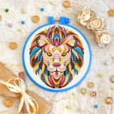 Cross stitch kit «T-0151 Mandala Lion»