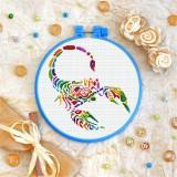 Cross stitch kit «T-0183 Mandala Scorpion»